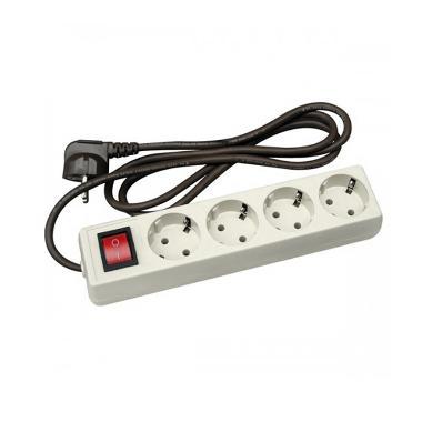 Uticon ST1482 Stopkontak [4 Lubang/Switch]