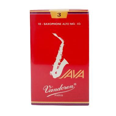 Vandoren Reed Alto Saxophone Java Red #3 Alat Musik