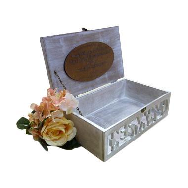 Vanesha Giftbox Wedding Ring Box Kotak Cincin 0001