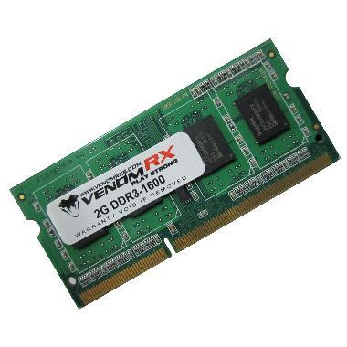 VenomRX Memory RAM Notebook 2GB DDR3-PC1600