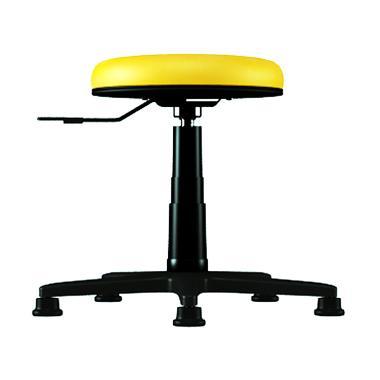 Verona Chair Type Bar KB-003-H Kain Kursi Bar Cafe  - Kuning