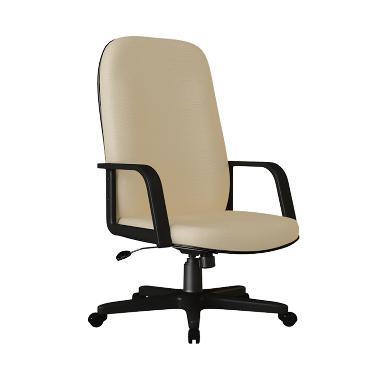 Verona Chair KD-150-HK Type Standard Kain Kursi Kantor - Coklat