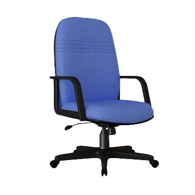 Verona Chair KS-201-HK Type Standard Kain Kursi Kantor - Biru