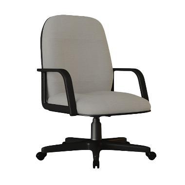 Verona Chair KS-251-HK Type Standard Kain Kursi Kantor - Abu-abu