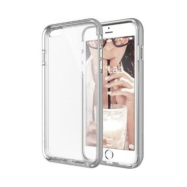 VERUS Crystal Bumper Case Casing fo ... one 6 Plus - LIGHT SILVER