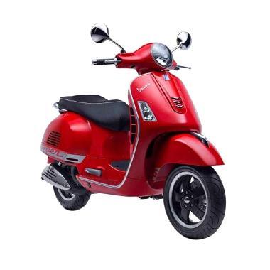 Vespa Primavera 150 i-Get Rosso Dragon Sepeda Motor [OTR Medan]
