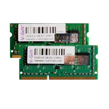 Vgen Sodimm 2GB DDR3L PC10600 Memory RAM for Notebook or Laptop