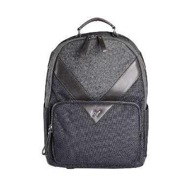 Viamonoh VAES-2013 Stone Basic Round Backpack - Grey