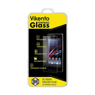 Vikento Premium Tempered Glass Screen Protector for Sony Xperia C3