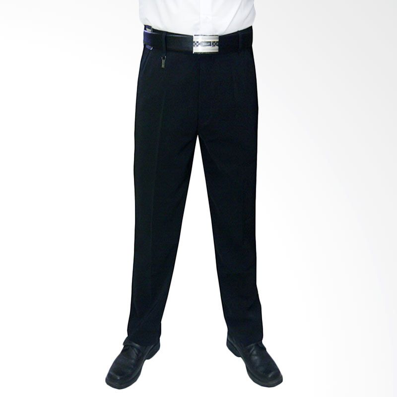 VM Formal Slim Fit Hitam Celana Panjang ...