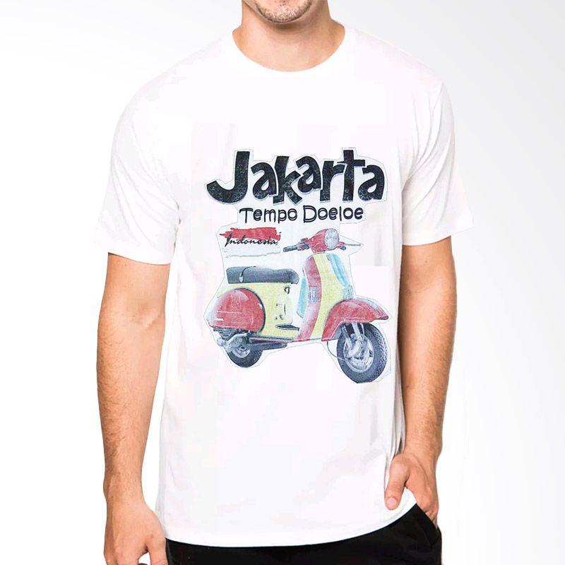 VM O Neck Simple Jakarta CT18 Putih ...