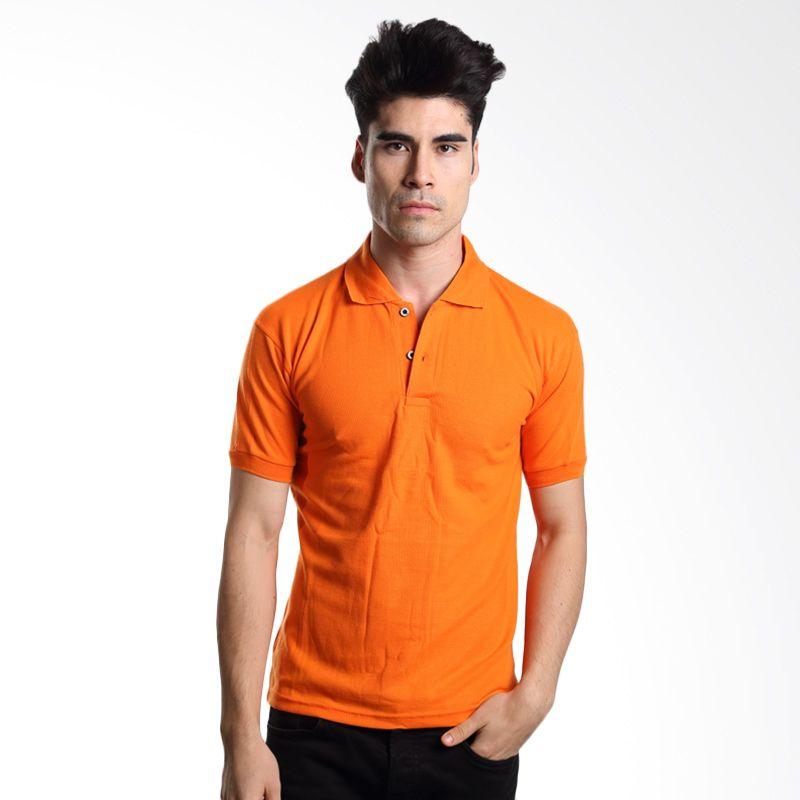 VM Polos Orange Kaos Polo Pria      ...
