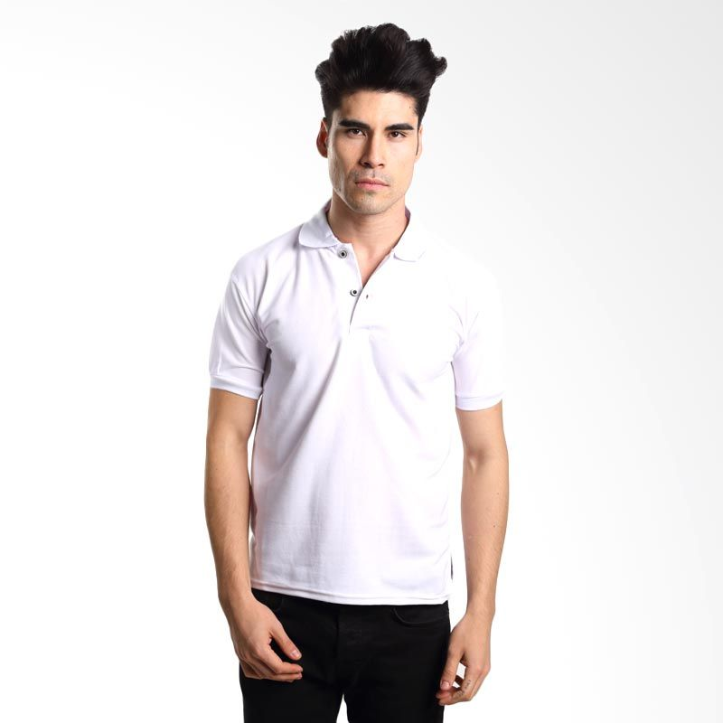 VM Polos Putih Kaos Polo Pria       ...