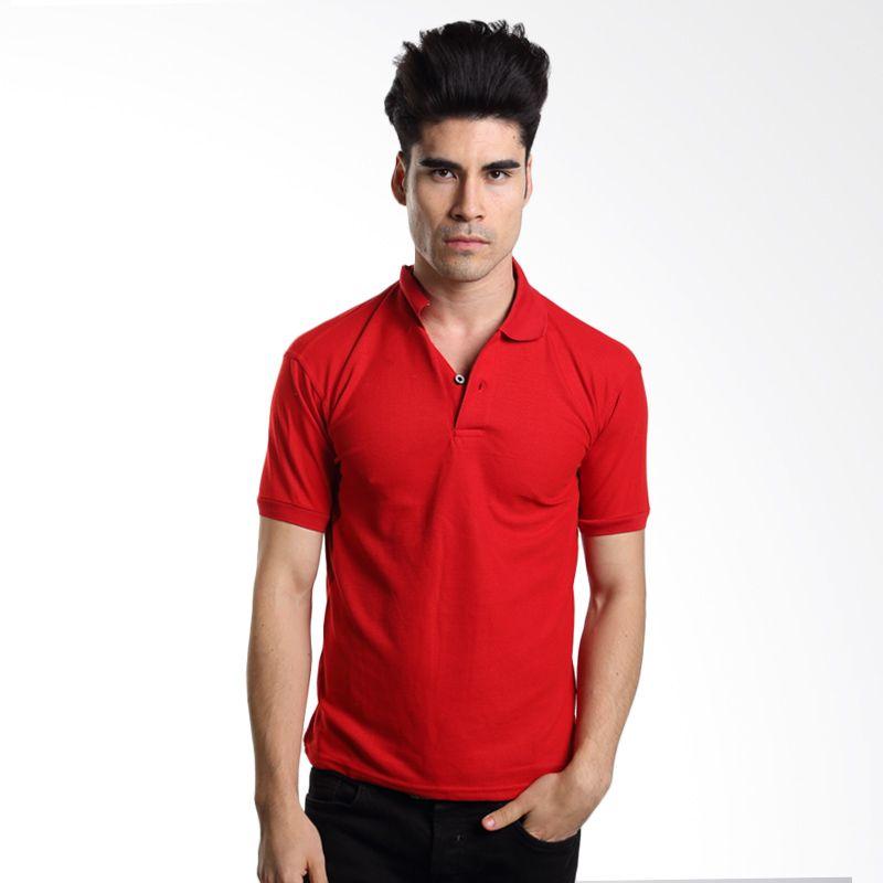 VM Polos Merah Kaos Polo Pria       ...