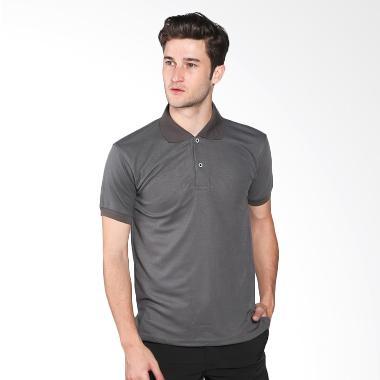 VM Polo Shirt Kaos Polos - Abu Tua