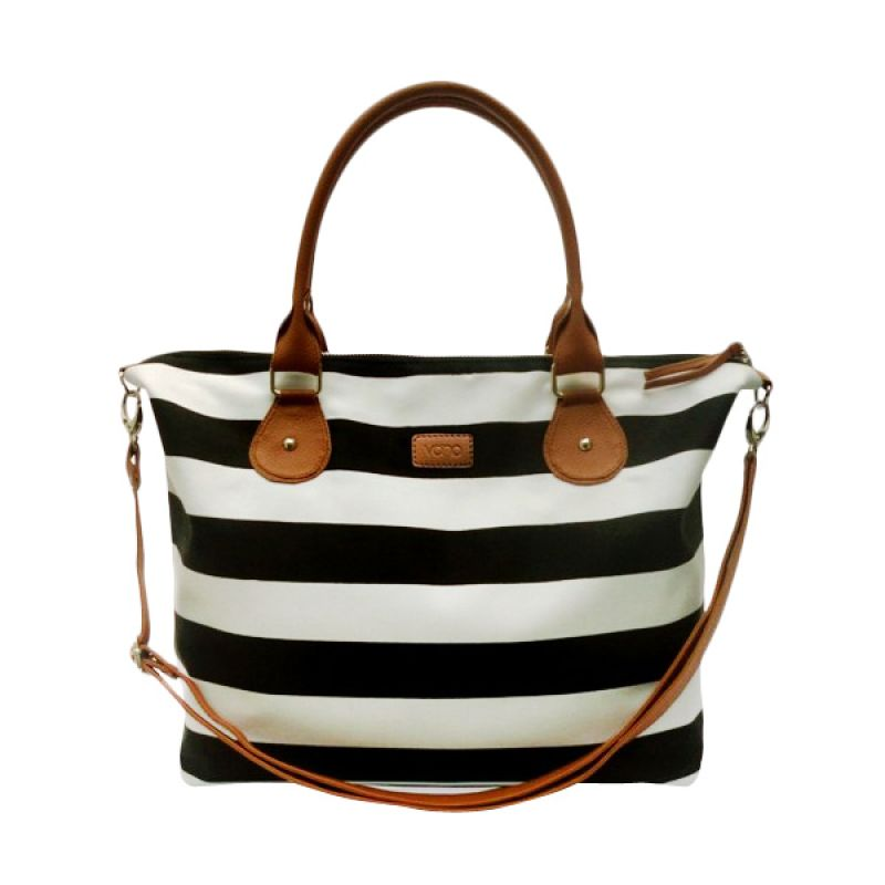 VONA Nautical Carriole - Black / White