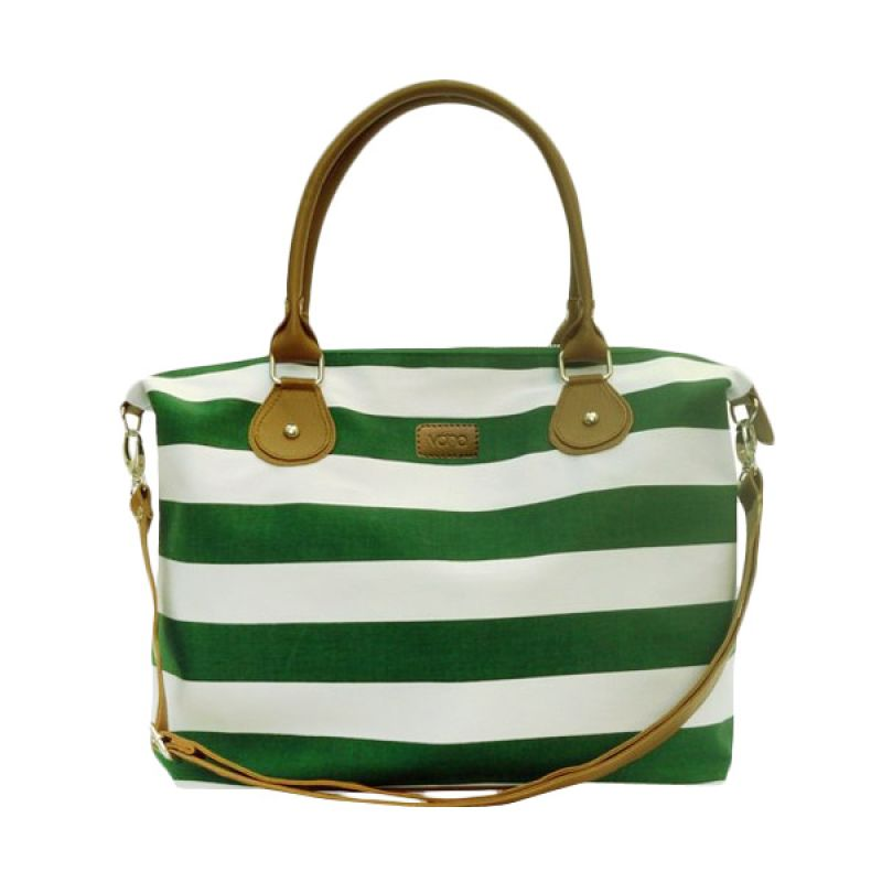 VONA Nautical Carriole - Green / White