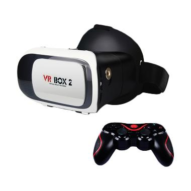 VR Box 2 with T3 with Magnetic Butt ... asses Headset [VRBOX2+T3]