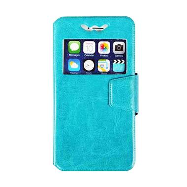 VR UK L-F4 Leather Universal Silicone Casing for ...