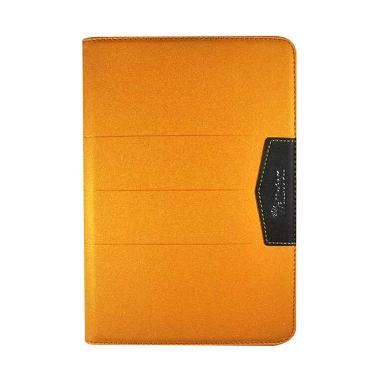 harga Wallston Beautiful Bright Leather Casing for iPad mini retina - Orange Blibli.com