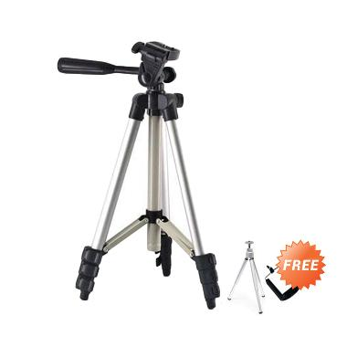 Wanky 3110 Alumunium Tripod Camera + Tripod Mini + Holder U