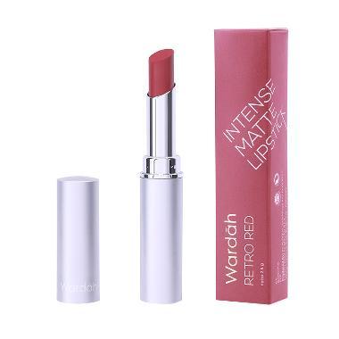 Wardah Intense Matte Lipstick - 08 Retro Red