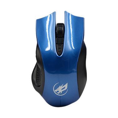 WarWolf M-508 Gaming Mouse - Biru
