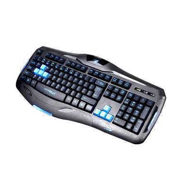 Warwolf Keybord Gaming Ps2 With Mouse Usb