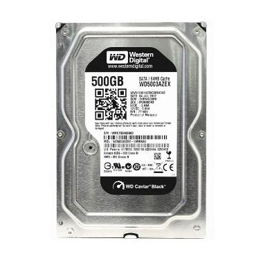 Jual WD Hard Disk Internal [3.5 Inch/500 GB/7200 RPM/Sata3] Harga Rp 1150000. Beli Sekarang dan Dapatkan Diskonnya.
