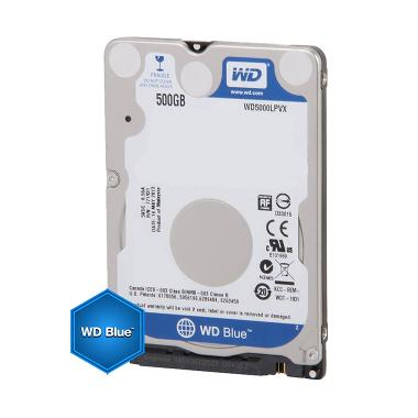 WD Caviar Hard Disk Internal Notebook - Blue [500 GB/5400 RPM]