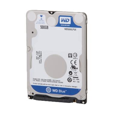 WD Caviar Notebook Harddisk Internal - Blue [500GB/5400 rpm]