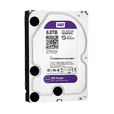 WD CCTV Purple Harddisk Internal [6 TB/ 3.5 Inch/ 7200 RPM]