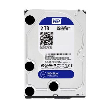 WD WD20EZRZ Hardisk Internal - Blue [2 TB/5400 RPM/3.5 Inch]