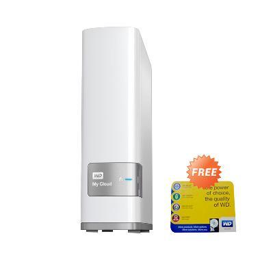 WD My Cloud Hard Disk Eksternal - W ... / LAN] + Free Mousepad WD