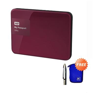 WD My Passport Ultra New Hard Disk  ...  + Free Pouch + Ballpoint