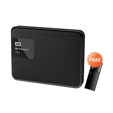 WD My Passport Ultra New Hard Disk  ... .0] + Free Flash Disk 8GB