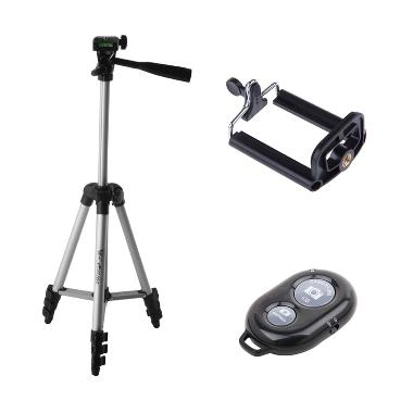 Weifeng WT-3110A Tripod + Free Holder-U + Bluetooth Camera Shutter