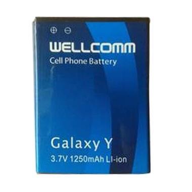 Wellcomm Baterai for Samsung S-5360 - Biru [1250 mAh]