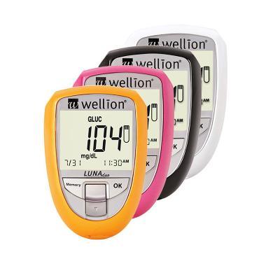 Wellion Luno Duo Alat Cek Gula Darah Kolesterol Peralatan Medis