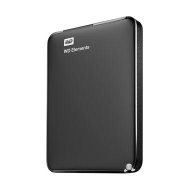 Kamis Ganteng - WD Elements 2.5 inch USB 3.0 Black Hard Disk Eksternal [1 TB]
