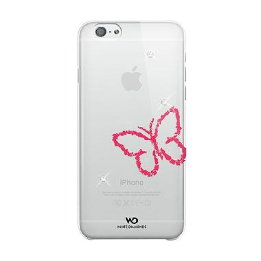 White Diamonds Lipstick Butterfly Casing for iPhone 6