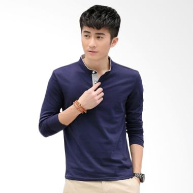 Upstyle Man Long sleeve 101 Biru Sa ...