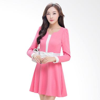 White Lotus Autumn 216 Dress - Pink