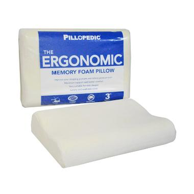 Willow Pillow Pillopedic Ergonomic Small Memory Foam