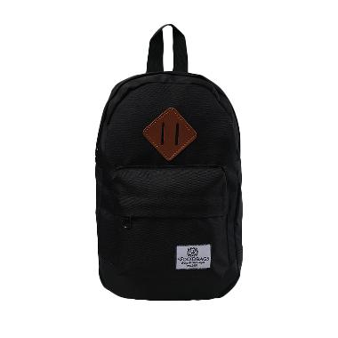 Woodbags Original Shoulder Tas Pria - Black