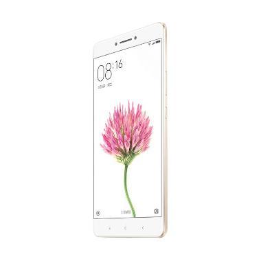 Xiaomi Mi Max Smartphone - Gold [3 GB/32 GB/Garansi Distributor]