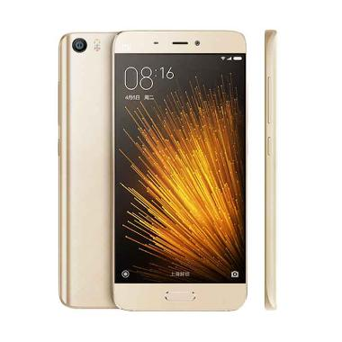 Xiaomi MI5 Smartphone - Gold [64GB/ 3GB/] + Tempered Glass