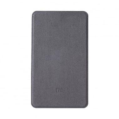 Xiaomi Micro Fiber Case For Powerbank 5000 mAh - Abu-abu