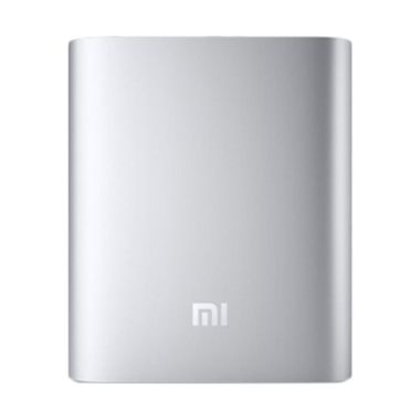 Power Bank Xiaomi - Silver [10400 m ...  lampu power bank USB led
