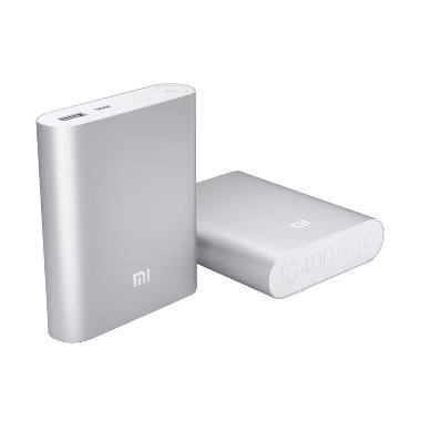 Xiaomi Powerbank [ 10400mAh ] - Silver